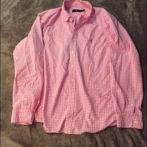 Polo long sleeve shirt